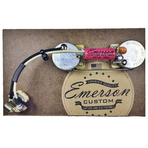 small resolution of  strat wiring diagram fender emerson custom prewired kit for precision b 250k ohm pots on fat