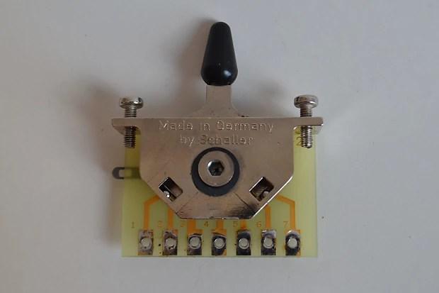 Humbucker Series Parallel Switch
