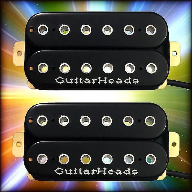 Magnificent Guitarheads Z Bucker Humbucker Pickups Bridge Neck Set Of 2 Wiring Cloud Hisonuggs Outletorg