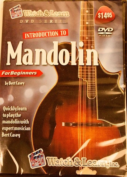 Mandolin Dvd Introduction To The Mandolin For Beginner  Reverb