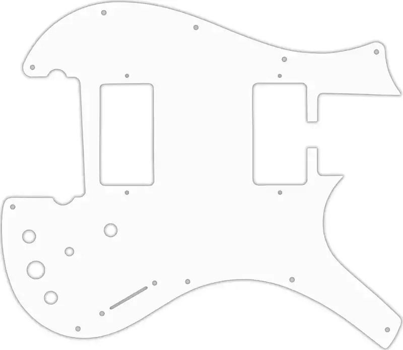 WD Custom Pickguard For Parker Dual Humbucker Nitefly M