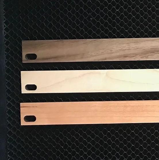 nice racks half unit 1 2u wood rack panel in cherry or maple veneered plywood