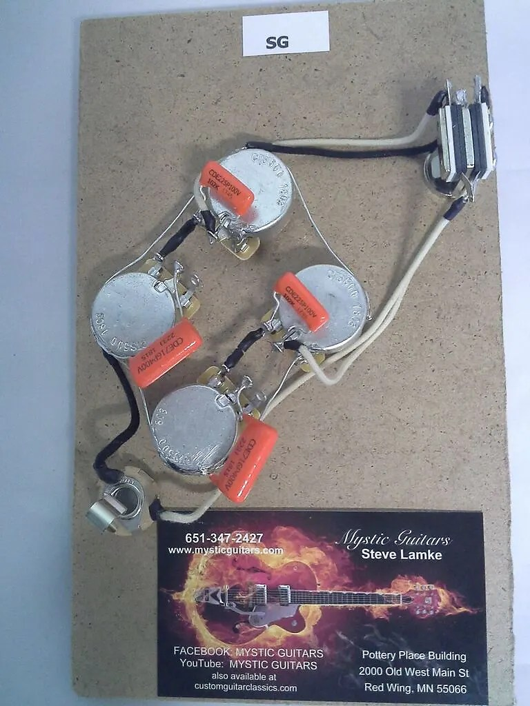 medium resolution of guitar wiring harnes
