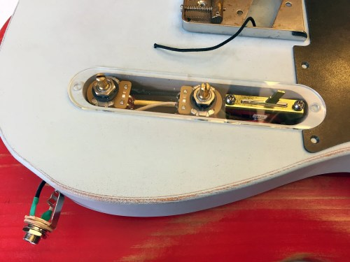 small resolution of prewired esquire 4 way wiring harness modified eldred cocked wah wainwright customs