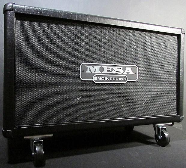 New Mesa Boogie 2x12 Rectifier Horizontal Guitar Cabinet