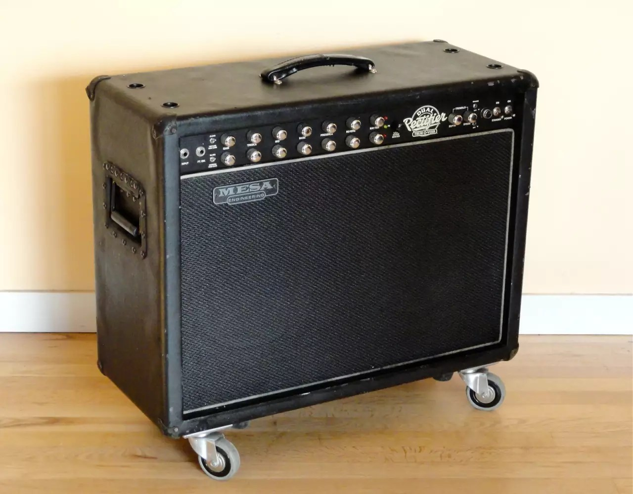 Mesa Boogie Dual Rectifier Tremoverb 2x12 Tube Combo  Reverb