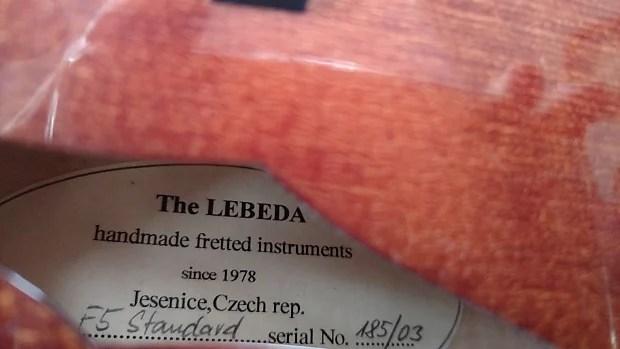 Lebeda F5 2003 Jessie Reverb