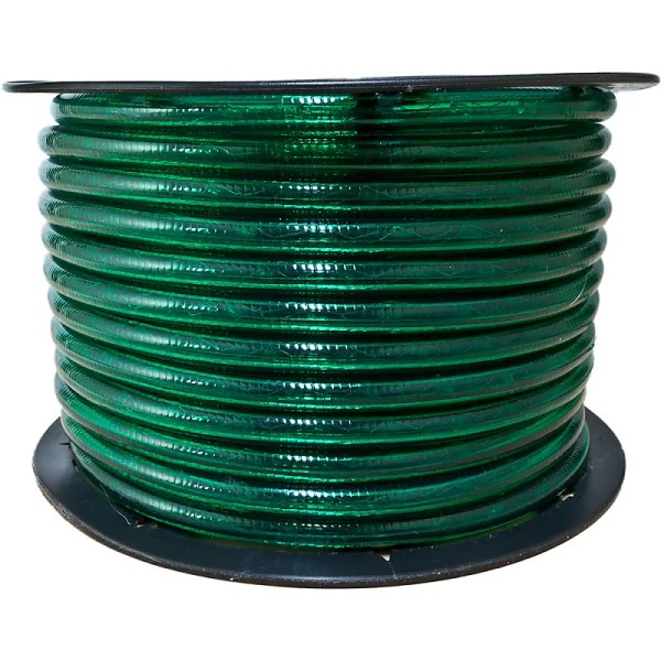 Green Incandescent Rope Lights Lighting - 150 Ft 3 8