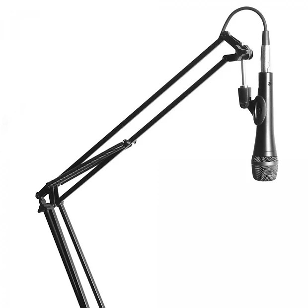 On-Stage Stands MBS5000 Broadcast/Webcast Boom Arm w/ XLR