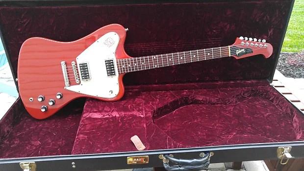Gibson Custom Shop Non Reverse Firebird Cardinal Red
