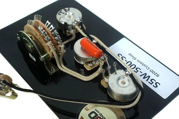 Fender 5 Way Super Switch Wiring Diagram
