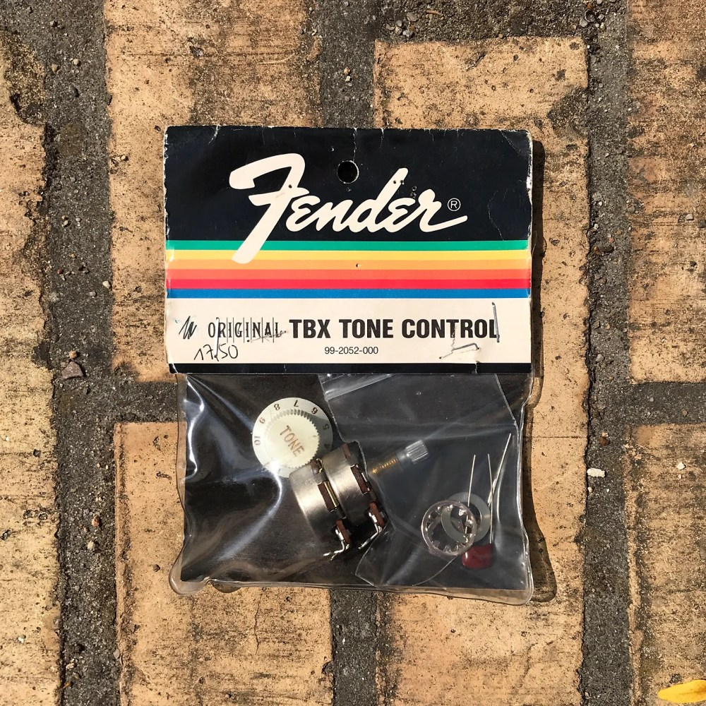 medium resolution of  fender tbx tone control set vintage 0992052000 for stratocaster or tele