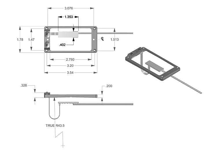 Seymour Duncan TS-1S Triple Shot Switching Mounting Ring