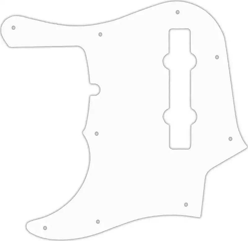WD Custom Pickguard For Left Hand Fender American Deluxe
