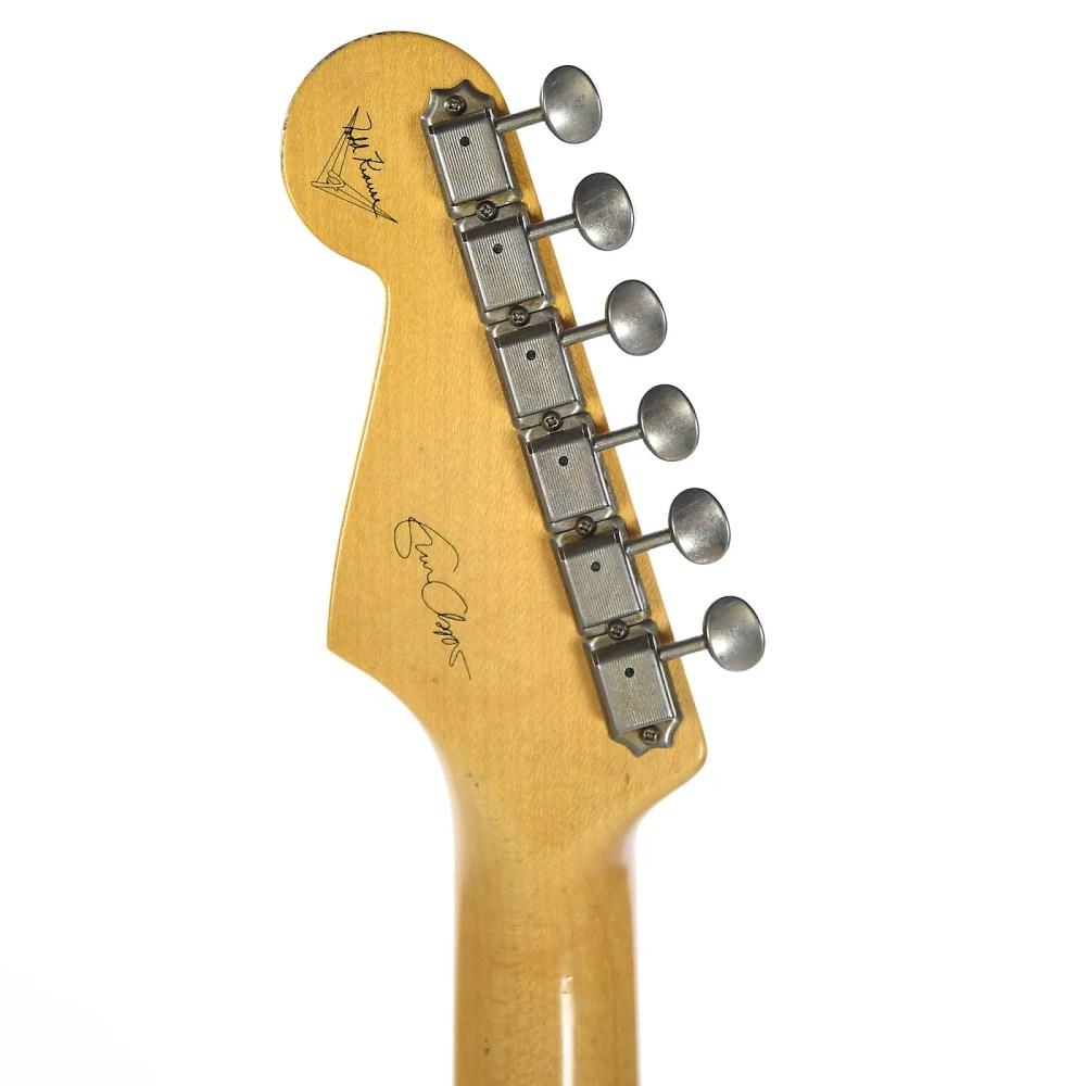 medium resolution of fender custom shop eric clapton stratocaster journeyman relic wht blonde masterbuilt by todd krause used
