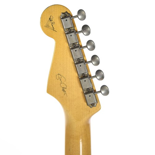 small resolution of fender custom shop eric clapton stratocaster journeyman relic wht blonde masterbuilt by todd krause used