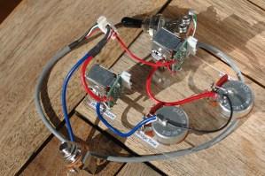 Epiphone Les Paul Pro Wiring Harness Coil Split  Push