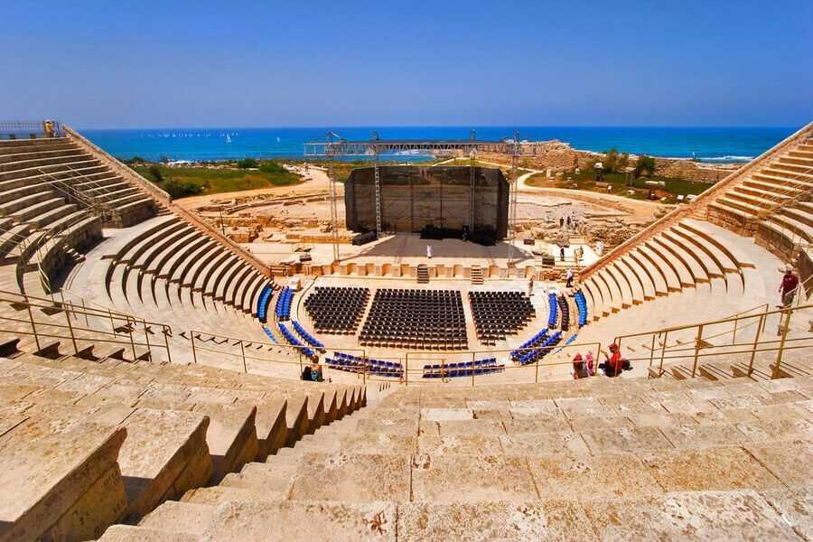 Caesarea, Haifa, Acre and Rosh Hanikra Tour from Tel Aviv