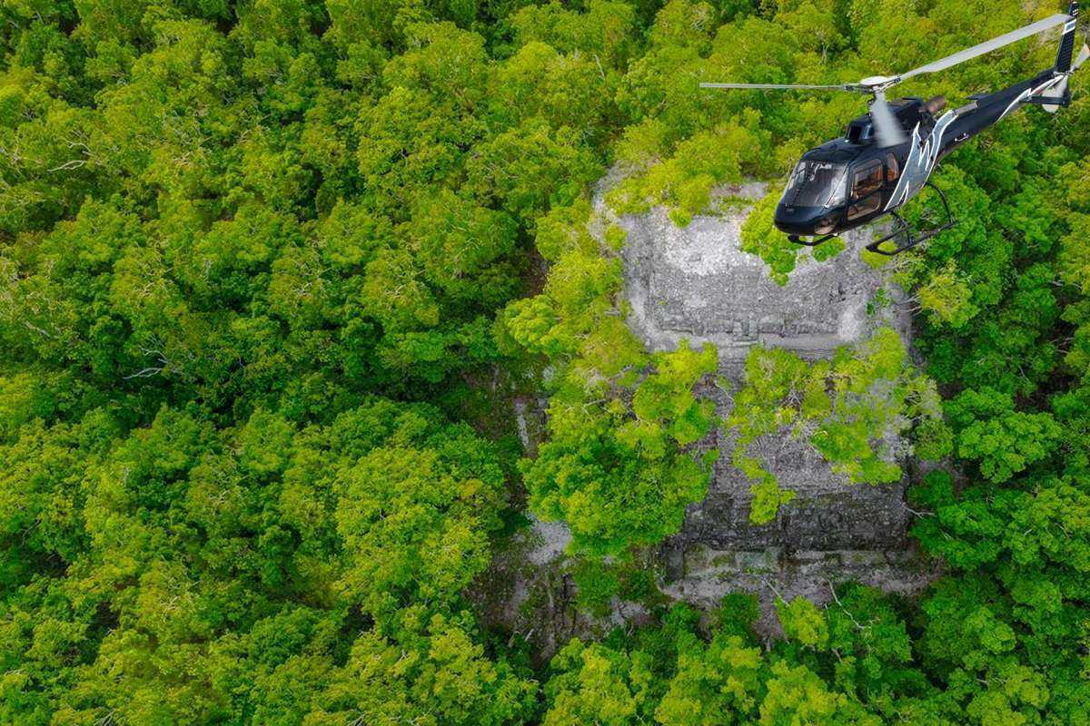 Northern Guatemala: 5 Days PACKED with Helicopter Rides, Boat Rides & Much More