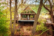 River . Treehouses- Whippoorwill Haus Texas Travel