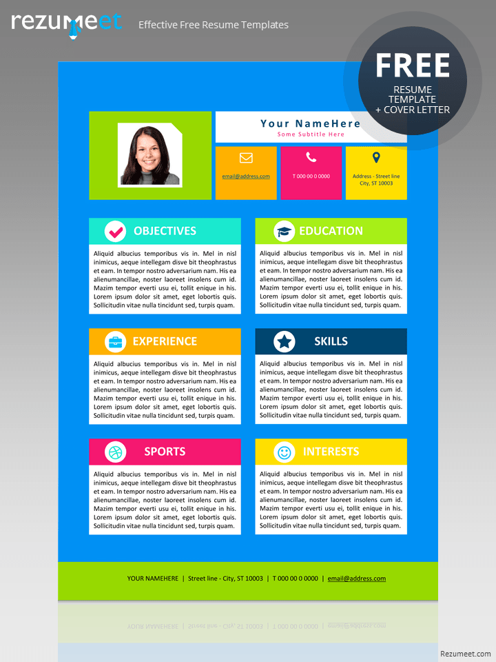 upload resume to free template