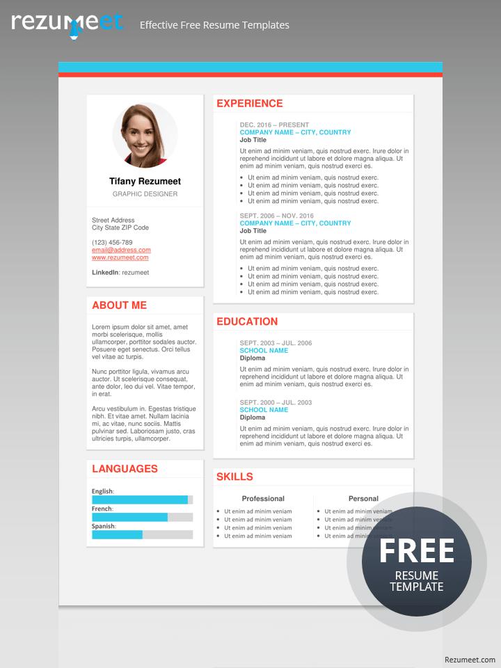 modern resume pdf