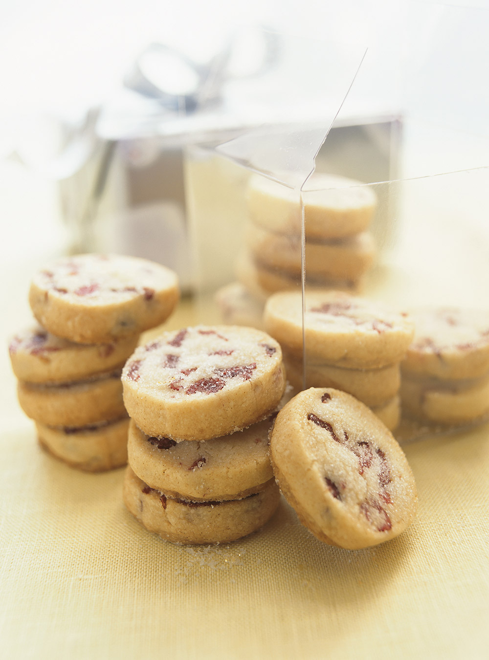 Biscuits aux canneberges rfrigrateur  Ricardo