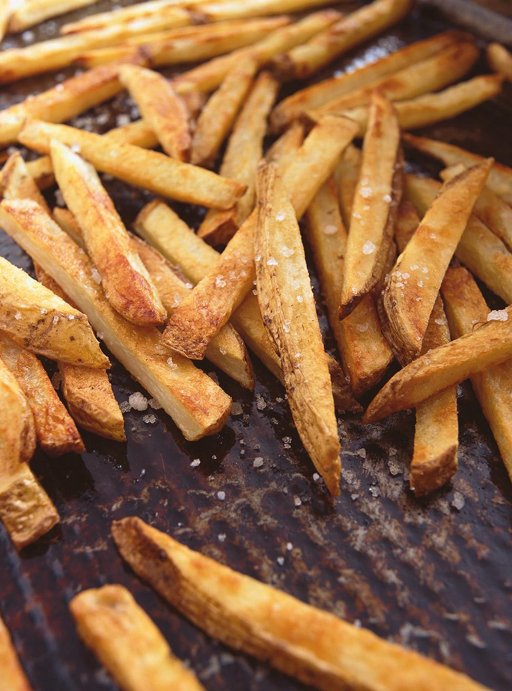 Comment Faire Des Frites Croustillantes : comment, faire, frites, croustillantes, Frites, L'huile, D'olive, Ricardo