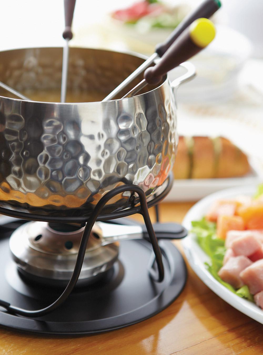 Bouillon au lait de coco pour fondue de poisson et de fruits de mer  Ricardo
