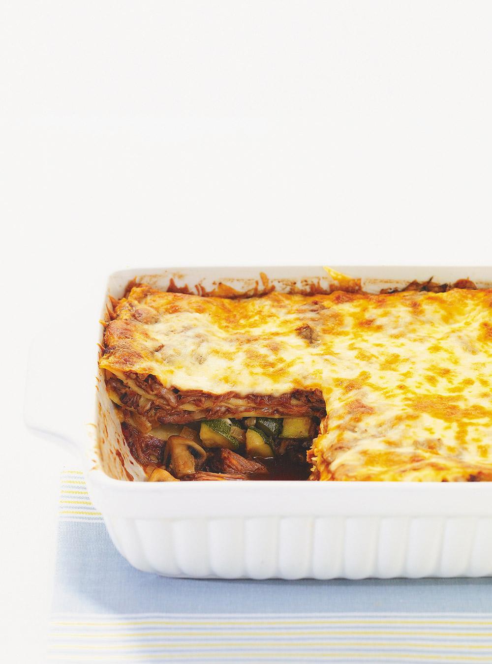 Lasagne au boeuf brais  Ricardo