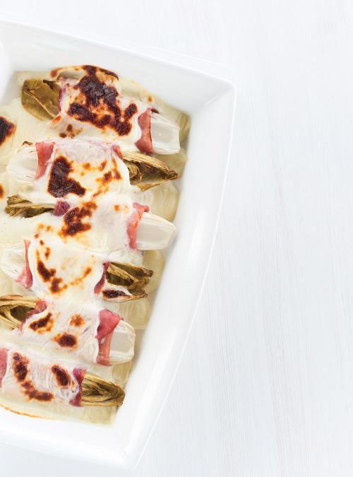 Endives Au Jambon Delicieuses : endives, jambon, delicieuses, Gratin, D'endives, Jambon, Ricardo