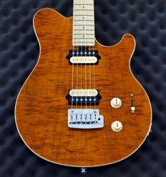 music man axis super sport 320f11000cscr trans gold flame rich tone music [ 900 x 900 Pixel ]