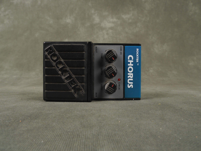 Rocktek CHR-01 Chorus FX Pedal - 2nd Hand | Rich Tone Music