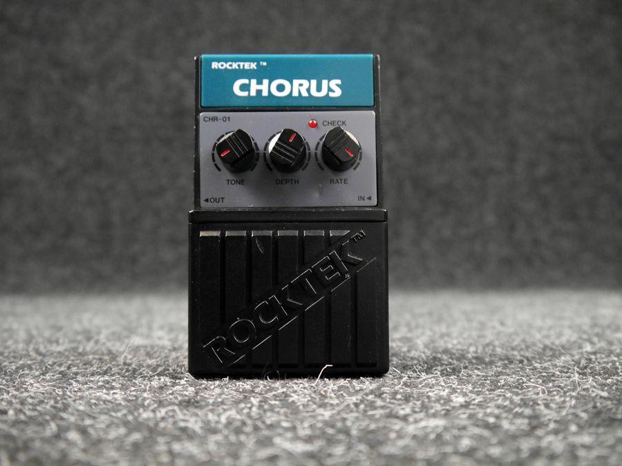 Rocktek CHR-01 Chorus Pedal - 2nd Hand | Rich Tone Music