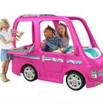 Power Wheels Barbie Dream Camper Battery Powered Ride On Vehicle