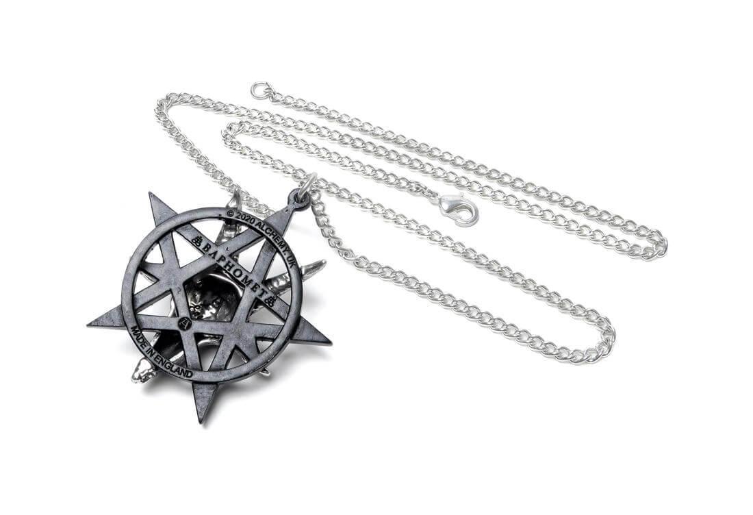 Baphomet Occultist's Pentagram Pendant Necklace
