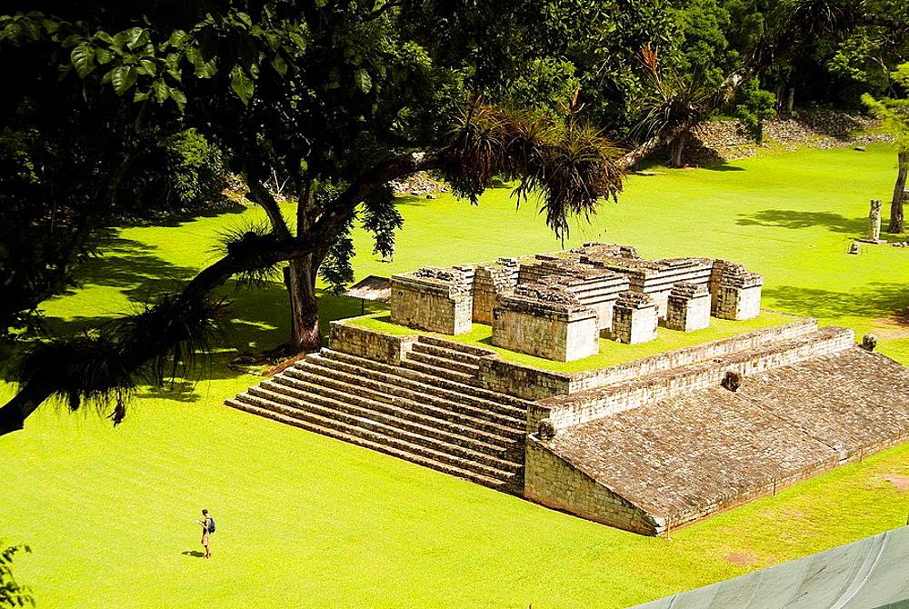 Photo of Copan Mayan ruins near Honduras