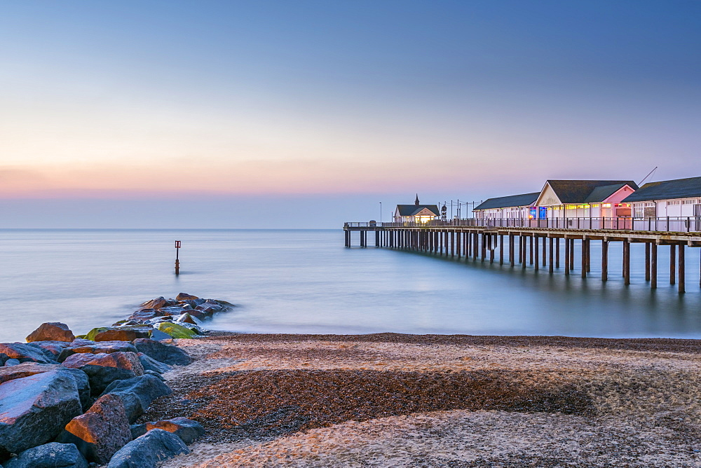 Stock photo of Southwold Pier, Southwold, Suffolk, England