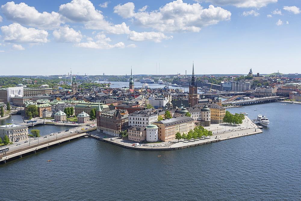 Stock photo nof of Riddarholmen Town Hall Tower, Stockholm