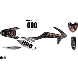 Attack Graphics Custom Havoc Complete Bike Graphics Kit