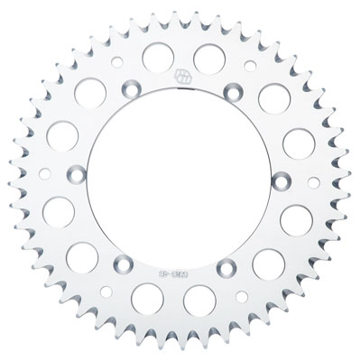 Primary Drive Rear Aluminum Sprocket 38 Tooth Silver