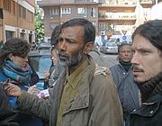 Batchu, portavoce della comunità bengalese (Brogi)