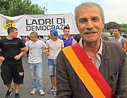 Sandro Medici ad una manifestazione (Jpeg)
