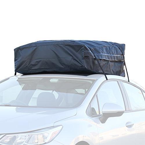 car truck racks waterproof roof top cargo bag no rack needed non slip roof mat storage bag new motors