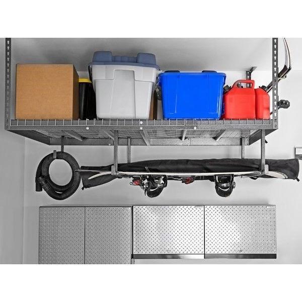 Garage Ceiling Storage Rack Shelf Unit 4 X