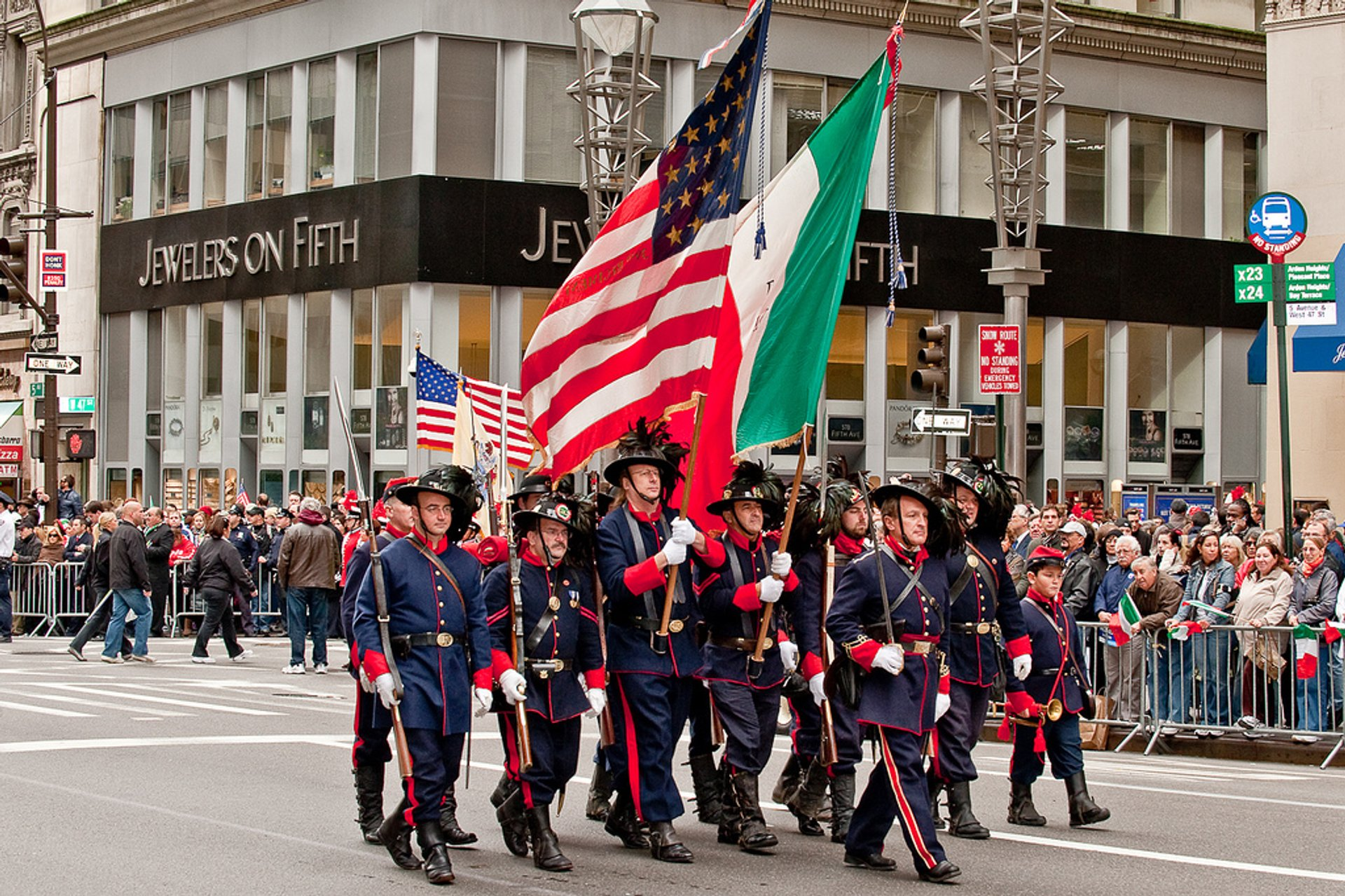 Columbus Day Parade In New York