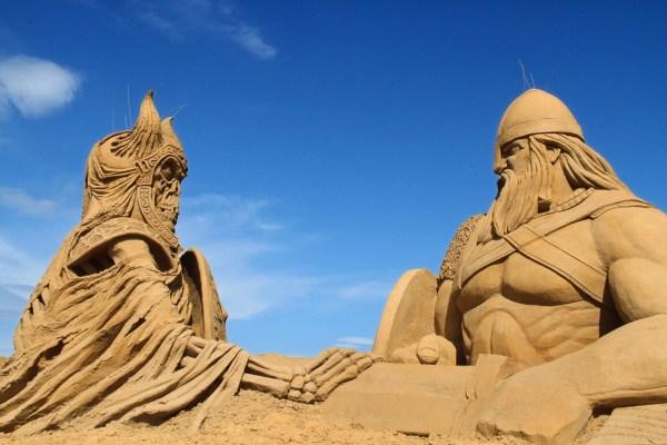 Ndervig Sand Sculpture Festival 2019 In Denmark - Dates