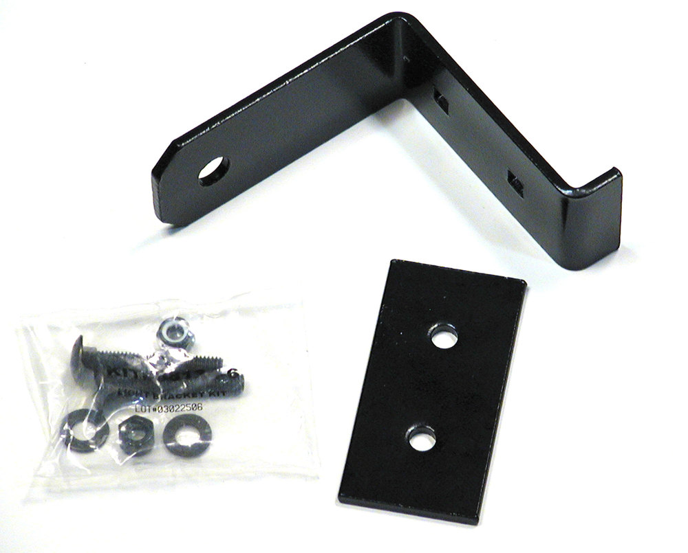 wilderness roof rack light mounting brackets clamp on