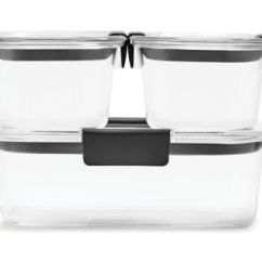 Rubbermaid Kitchen Storage Containers Sink Clog Food Brilliance