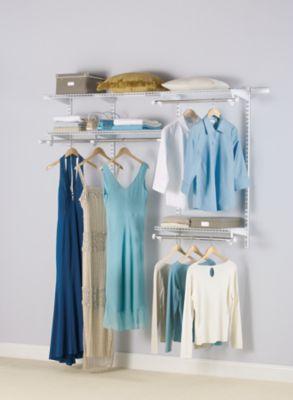 36 Ft Configurations Custom Closet Kit  Rubbermaid